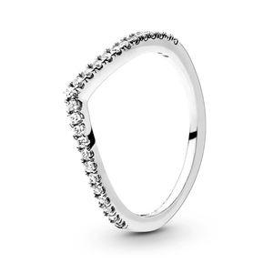 925 Sterling Silver Wishbone Ring